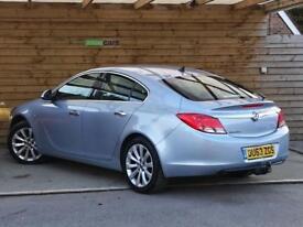 Vauxhall Insignia 2.0 CDTi ecoFLEX Elite Nav [160] 5dr FULL SPECIFICATION (silver) 2013