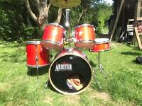 Drum kit arbiter advanced tuning vintage