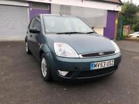 FORD FIESTA 1.6 GHIA PETROL 5DOOR 2003 *LONG MOT/MINT RUNNER/ALLOYS*