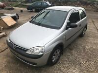 Vauxhall corsa 1.7 Diesel engine breaking car