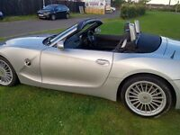 BMW Z4 ROADSTER 2.2 SE FSH LOW MILES LEATHER GREAT CONDITION (SWAP PX P/X P/EX PART EXCHANGE WHY?)