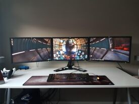 Triple monitor setup with Stand