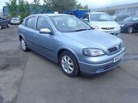 2003 (53) Vauxhall Astra 60,000 Miles MOT'd Dec £495