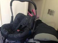 Silver crest car seat