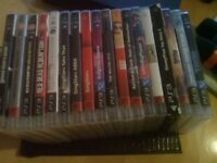 Playstation 3, 500gb + 37 games and extras