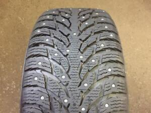 "4 NEW WINTER PORSCHE MACAN 20"" NOKIAN HAKKA 9 SUV STUDDED - 265 45 20 + 295 40 20 !!! 12/32"" !!!"