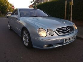 MERCEDES CL 500 V8 300HP LPG CONVERTED * NEW SPORT ADJUSTABLE SUSPENSION CL500 C215