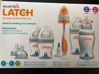 Munchkin latch newborn starter bottle set