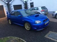 2003 Subaru Impreza WRX STI Type UK (Evo skyline Type r dc5 supra cupra)
