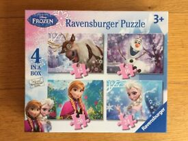 Ravensburger Frozen Puzzle (4 in a box)