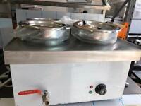Bain Marie Electric 4 Pot Round