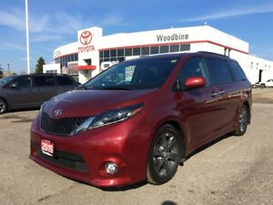 2015 Toyota Sienna SE+Leather SEATS+BACK UP CAM+PWR DoorS/GATE+M