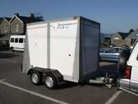 Indespension tow a van/ box trailer