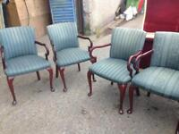 Chairs x5 carvers