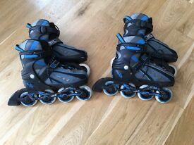 Inline skates 2 pairs size 12-2