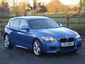 2013 BMW 118d M SPORT 5 DOOR **VERY LOW MILEAGE**