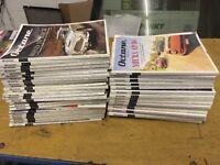 Octane magazines job lot x43 issues collectors editions