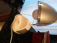 iHome iPod dock and lamp