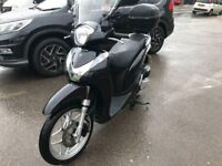HONDA SH MODE 125cc BLACK 2014 low mileage hpi clear!!!!