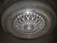 Alloys wheels good condition 150 ono the stood4 4/100 and 4/108