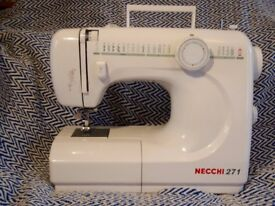 Electric sewing machine for repair or spares. Necchi 271.