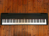 Yamaha Electronic Piano Keyboard P70. Very good condition. 88 weighted keys.