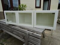 Ikea White Kitchen display Cabinet