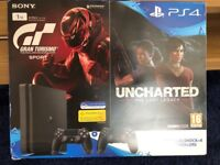 Playstation 4 Slim (1TB) + Extras and Games