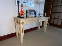Console Table & Coffee Table