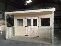 Midmar Timber Quality Sheds, Garden Sheds, Timber, Fencing, Log Stores, Sleepers, Bark, Crates
