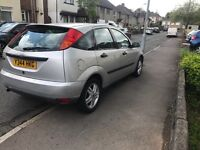 2001 Ford Focus, 1.4 NEEDS TO BE SOLD ASAP AS MOVING OVERSEAS