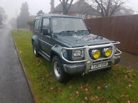 Daihatsu Fourtrak Independent TDX ROCKY. One of the cleanest about, must see