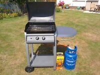 Gas barbeque and gas bottle for sale