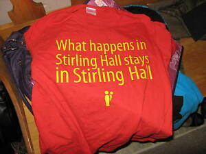 Queen's Queens University Stirling Hall shirt Sterling Kingston Kingston Area image 1