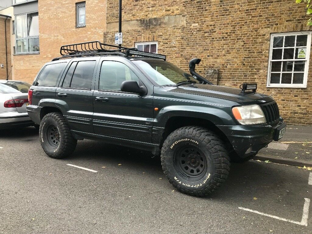 jeep grand cherokee 4 7 v8 lpg converted offroad ready. Black Bedroom Furniture Sets. Home Design Ideas