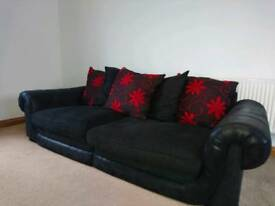 Large 4 seater sofa excellent condition