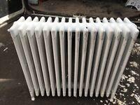 3 old radiators