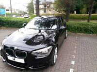 2014 (14 Reg ) BMW 116D EFFICIENTDYNAMICS 5D 114BHP Manual, 25000 miles