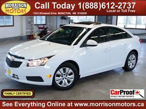 2012 Chevrolet Cruze LT Turbo, ONLY 29km! Pwr SUNROOF!