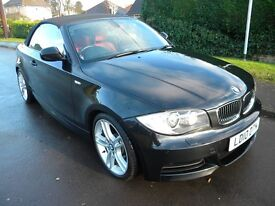 Bmw M 135 I Convertable £2000 bmw sat nav unmarked red leather full bmw history