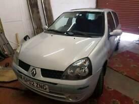 2002 Renault Clio 1.2 expression