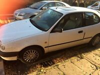 1998 Toyota Corolla free for parts, drive away, etc