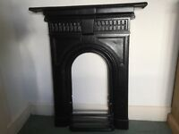 Victorian cast iron fire surround (recently renovated)