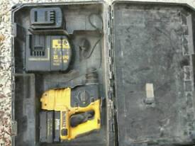 Dewalt 24 volt sds drill