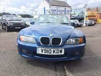 1999 BMW Z3 CONVERTIBLE BLUE