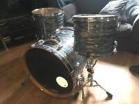 Pearl Vision SST Birch Drum kit in Blue Oyster