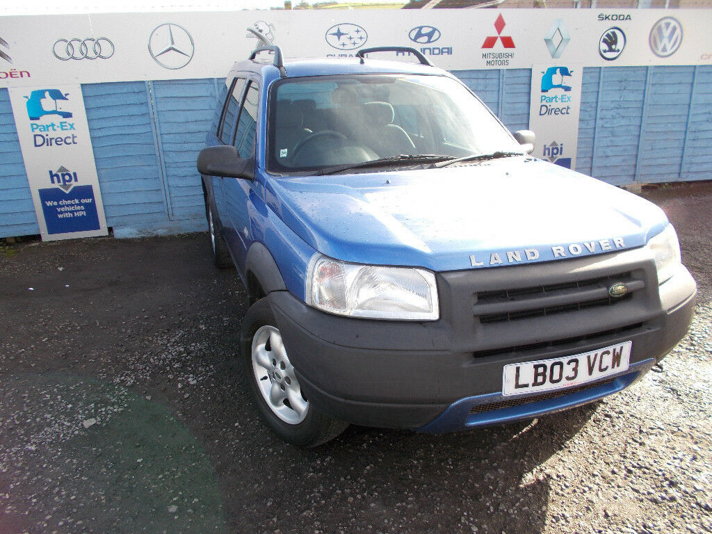 PART X DIRECT OFFERS THIS CLEAN LANDROVER FREELANDER 4X4 ,NEW CLUTCH+SERVICE+MOT+WARRANTY!!