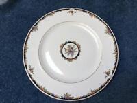 Fine Bone China Wedgwood Osbourne Dinner Plates & Pepper Pots
