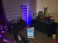 Cube Photo Booth Hire (From £275 Inc Guestbook & Unlimited Use)