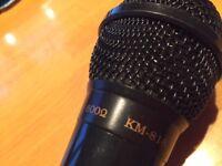 Dynamic Microphone km-818 imp 6000